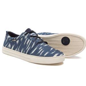 CLAE deep navy bolt canvas sneakers